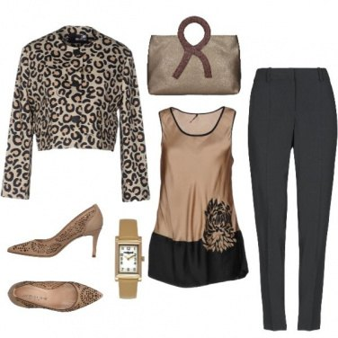 Outfit Animalier'