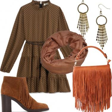 Outfit Etno frange