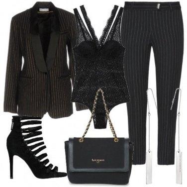 Outfit Gessato ed elegante