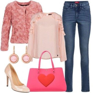 Outfit Una giornata in rosa