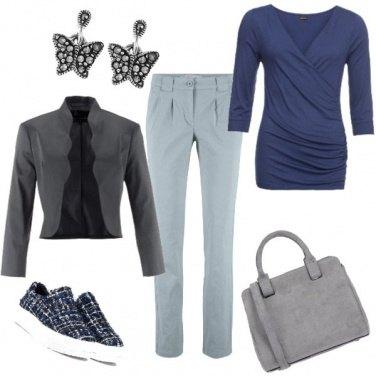 Outfit Sportiva ma con classe