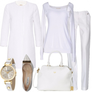 Outfit Bianco armonico