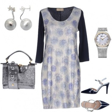 Outfit Bluargento
