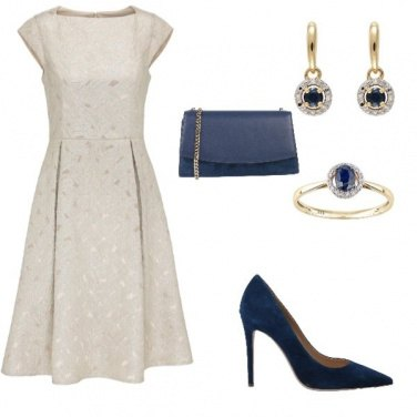 Outfit Royal Blue