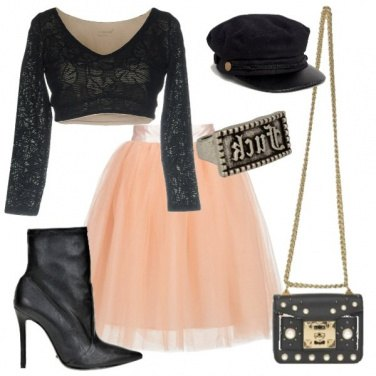 Outfit Tulle in rock