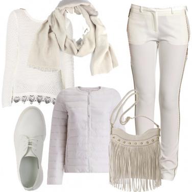 Outfit Borsa con le frange