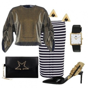 Outfit Golden style