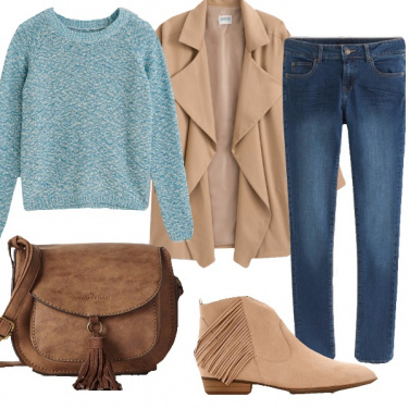 Outfit Frange e nappe per tutti i giorni