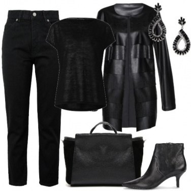 Outfit Black Leather