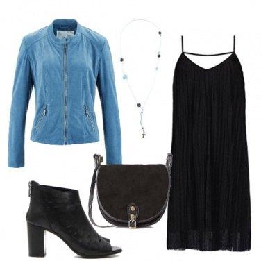 Outfit L'abito senza maniche