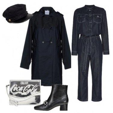 Outfit La tuta worker stile Dior