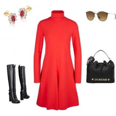 Outfit Anteprima A/I2019:rosso: mai senza