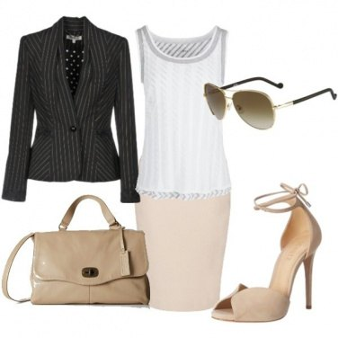 Outfit Urban nude