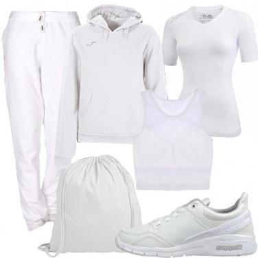 Outfit Candore sportivo