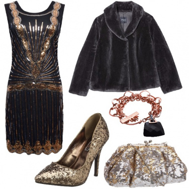 Outfit Bronzo di sera