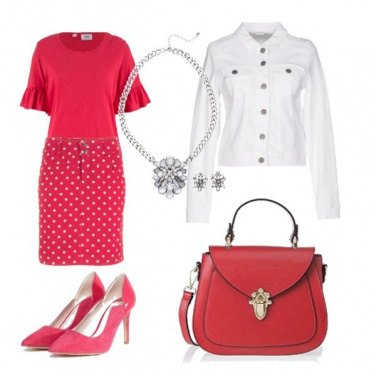 Outfit Back to office with pois