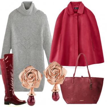Outfit Armonia di rosso