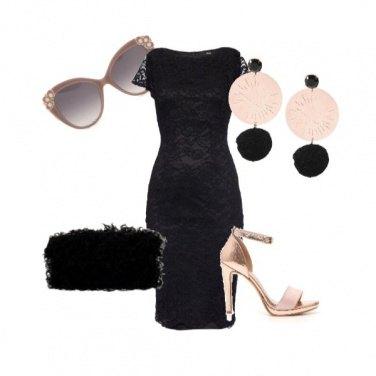 Outfit Un tocco oro