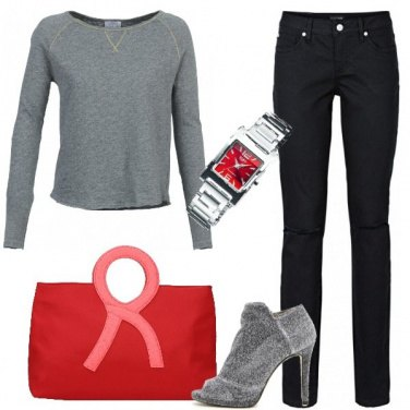 Outfit Glamour in felpa