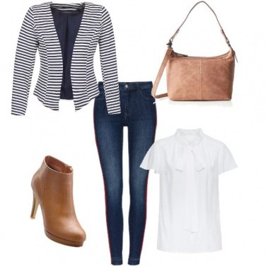 Outfit Immancabile jeans