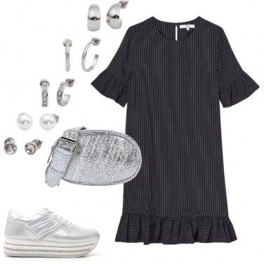 Outfit Il gessato è informale