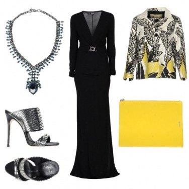 Outfit Il giallo e il nero