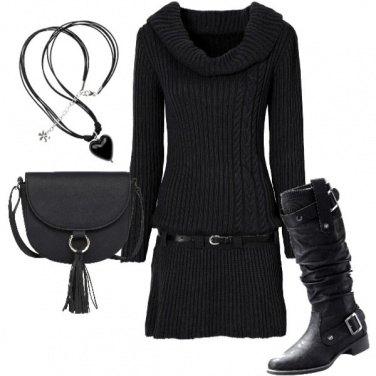 Outfit L\'eleganza del grigio