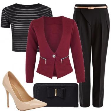 Outfit Classica eleganza