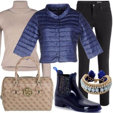 Outfit Una giornata di pioggia