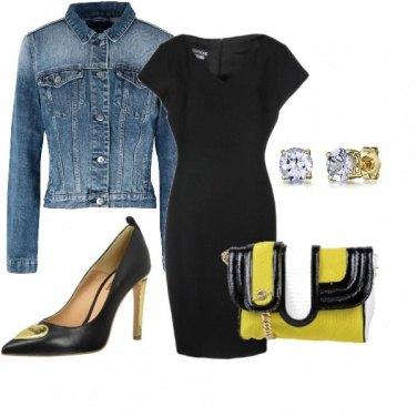 Outfit Tubino nero trendy style