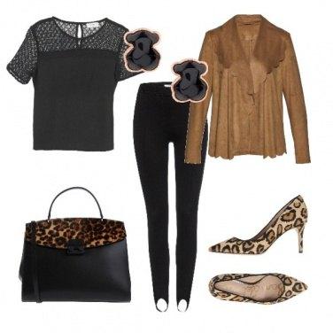 Outfit Fantasia gattopardata