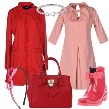 Outfit Anche se piove, sempre bon ton