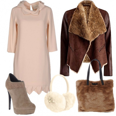 Outfit Caldo pellicciotto
