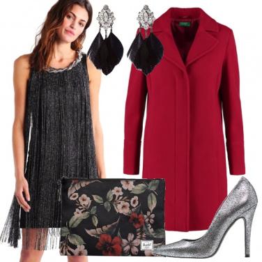 Outfit Chic dal sapore romantico e retro\'