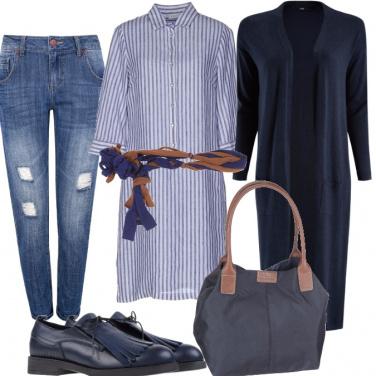 Outfit Miniabito con cintura