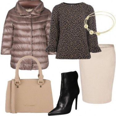 Outfit Tendenze maculato