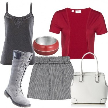 Outfit Anfibi trandy