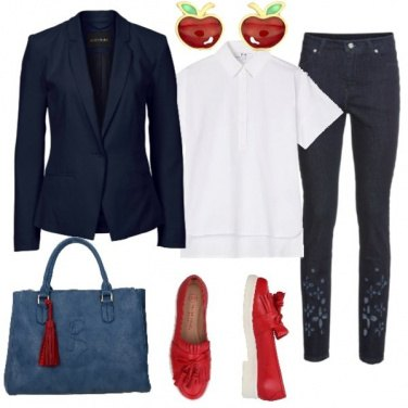 Outfit Meline rosse