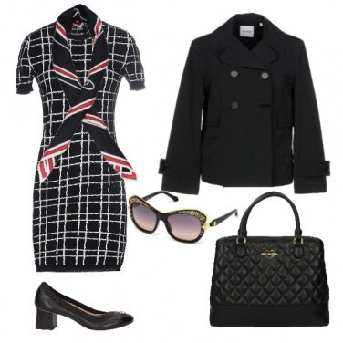 Outfit Back to office loving Moschino