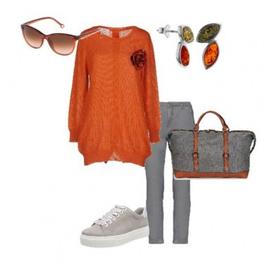 Outfit Orange love