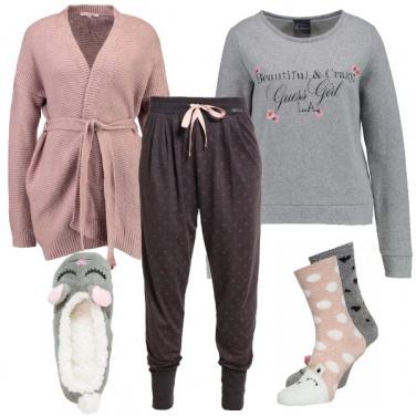 Outfit Coccole sul divano