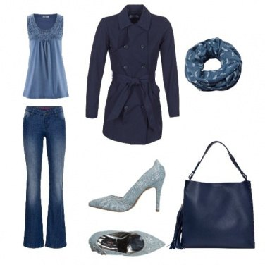 Outfit Blue style