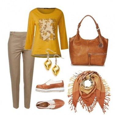 Outfit Colori caldi e... comodi!
