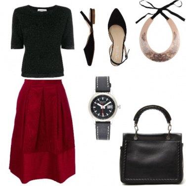 Outfit Basic, ma con un tocco orginale