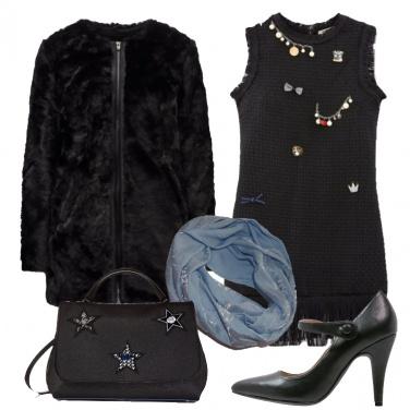Outfit Serata speciale in nero