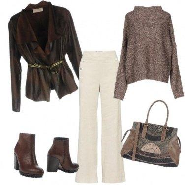Outfit Caldo cachemire