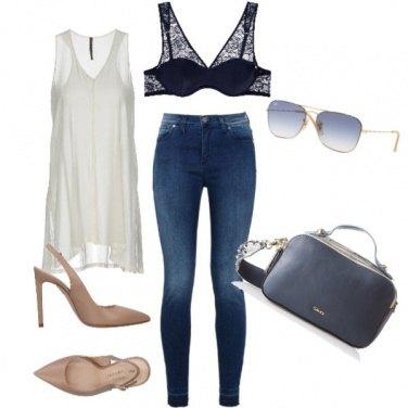 Outfit Semplice e sexy