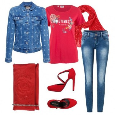 Outfit Affascinante anche in jeans