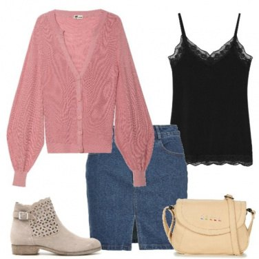 Outfit Mini in jeans