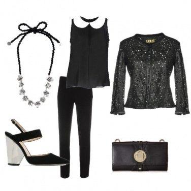 Outfit Black & White discreto